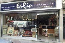 Karin Sanat / Esefoğlu Ltd (Karin Sanat)  Resim, Hat, Ebru, Tezhip Malzemeleri  Calligraphy, Marbling, Illumination Art Materials