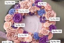 Buttercream flower design