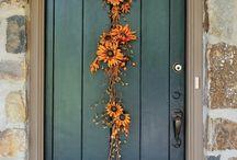 Door dressing / Wreaths & door decor