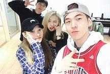 K.A.R.D (카드) / Bias : BM Bias Wrecker : J. Seph Members : Jiwoo, Somin, BM, J.Seph Fandom Name : Hidden K.A.R.D