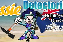 Metal Detecting Australia / Metal Detecting in Australia, Show off the treasure and trash that is to be found all over the parks, beaches and bushland of australia. You'll be surprised what your metal detector can turn up.