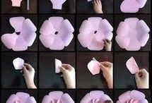 Papierowe kwiaty