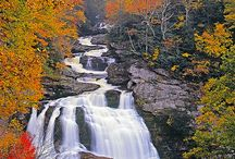 Appalachian waterfalls
