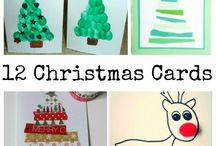 school Christmas card ideas