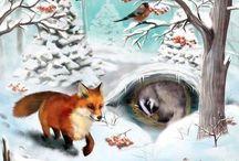 erdei állatok tôlen