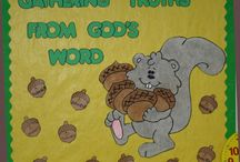 Bible Class-Decor/Attd Charts / by Beth Forehand