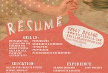 Promo Portfolio Resume / by Kathy McGraw