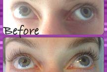 Eyelash Extensions / Eyelash extensions using products from The Eyelash Emporium