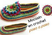 mocasines croche