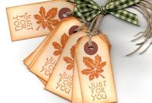 Fall Retreat  / Lavish favors & giveaways  / by Charity Burner