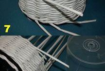Pedig - pletení z papíru