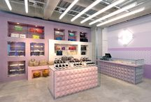 retail spaces / transportation through design