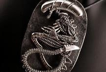 scorn space giger jewellery