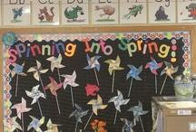 Springtime at School