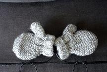 moufles - gants / moufles tricot bébé