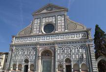 Iglesia de Santa María Novella. Siglos XIII-XIX. Gótica. Renacentista. Florencia. Italia. / Photo Travel History Art Architecture Fotografía Viajes Historia Arte Arquitectura