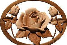 sculture di legno
