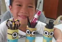 Craft for kids / What we can do when we are stuck at home ! Let's get crafty !
