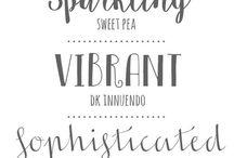 Typography / Fonts
