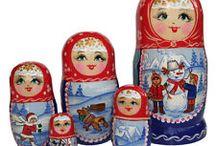 babuschka / Russian dolls also known as Mak