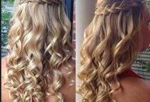 hair for the wedding
