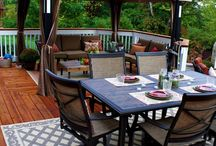 Deck/ Porches and Patios / by Kathy Riley