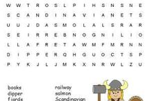 Geography Puzzles / Have fun learning and teaching geography with word search, crossword puzzle and other worksheet activities for kids and adults.