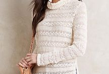 Lace sweaters / Summer sweaters for design inspiration