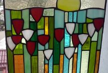my works , stained glass ,tiffany ,miscellaneous