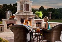 Fire Features / The colder weather doesn't have to mean the end of outdoor entertaining.