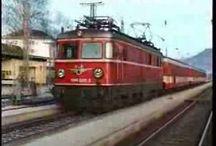 Treinen in de Alpenlanden