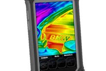 Therma Pad Wireless Thermal Imaging Tablet / The Therma Pad is a new product from SPI Corp that combines a wireless handheld tablet and a FLIR thermal imaging camera in one.  It unit has a touch screen interface and integrated reporting software for easy real time thermal imaging data that can be instantly shared on any wireless network.  This infrared camera system is low cost, easy to use & features the Android operating platform.