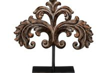 "Royal expectations / Hansen Wholesale's ""Royal Expectations"" board features home decor that includes: fleur de lys, chess themed decor, crowns, and ornately carved pieces. Feel free to mix and match your favorite items from your favorite boards, and create your own favorite collections. If you have a board that is dedicated to Hansen Wholesale products, we would love to know about it, use the hashtag #HansenWholesale."