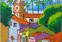 Brazilian Art / A small selection of Brazilian Folk Art