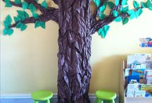 Classroom display ideas / Tree