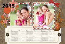 Calendar / Numerous calendar in portrait or landscape style, including monthly calendar, weekly calendar, spring calendar, autumn calendar, etc.
