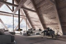 Mountain chalet – Cortina / Architectural Visualization for Arch. Giovanni Cattani