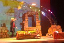 Espectáculos para peques / Eventos para peques a los que asistimos: teatro, títeres, talleres...