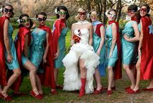 superhero themed wedding