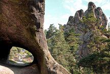 """Die 10 UNESCO-Geoparks in Deutschland und Österreich / Erdgeschichte vor der Haustür: Seit 2015 zeichnet die UNESCO geologisch wertvolle Stätten als """"Global Geoparks"""" aus. An diesen Orten wird das Zusammenspiel aus Erd- und Kulturgeschichte greifbar. Weltweit gibt es 119 Global Geoparks, zehn davon in Deutschland und Österreich. Wir stellen sie vor."""