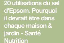 SEL D'EPSON BIENFAITS