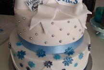 Taarten en cupcakes / Eigen creaties