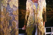 Irish Crochet and Irish lace elements