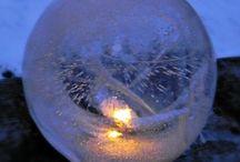 Is lykter // Ice lanterns