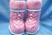 носки тапочки пинетки