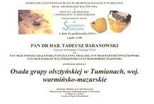 Seminaria Bałtyjskie 2016/2017