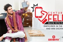 #CenturyPlyFelfie / Selfies are passe, Felfie is the new buzzword. Upload your picture with your favourite piece of furniture to win exciting prizes. One daily winner also gets featured on our website's Hall of Fame section