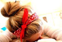 Headband/scarf / by Debra Self