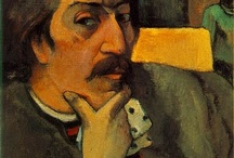 Paul Gaugin / One of my favourite painters.  I'd love to hang out on a Pacific Island painting the culture.