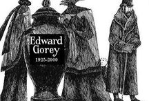 B◘◘Ks:Edward Gorey / (1925-2000)--love his wicked and whimsical art / by Shirley Aston-Andre Golden